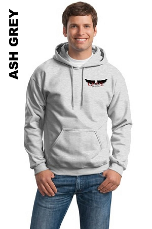 Gildan 18500 Adult Pullover Hoodie Pocket Logo (Tax Included)
