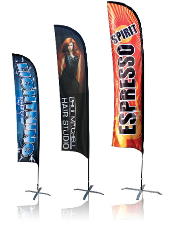 Feather Banner 8Ft Single Sided