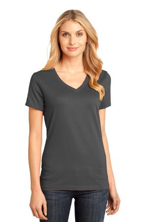 TCWP DM1170L Charcoal Ladies District  V-Neck