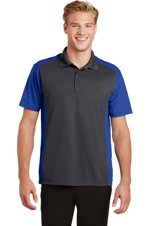TCWP ST652 Iron Grey / True Royal Mens Polo