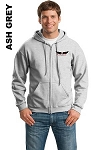 Gildan 18600 Adult Zip-Hoodie Pocket Logo (Tax Included)