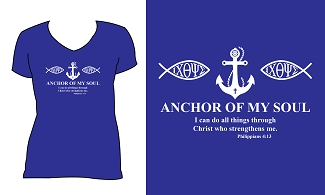 Anchor V-Neck