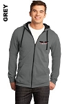 District DT800 Adult Zip-Hoodie Pocket Logo (Tax Included)